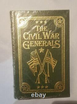 Easton Press The Civil War Generals by Robert I. Girardi, New in plastic wrap