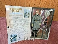 GENERAL ROBERT E. LEE Brotherhood of Arms Civil War Figure MIB Sideshow Toy