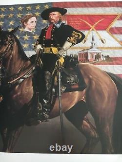 General George Armstrong Custer Michael Gnatek Limited Edition Civil War Print