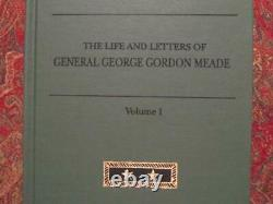 General George Gordon Meade Life And Letters CIVIL War 1913 Reprint New