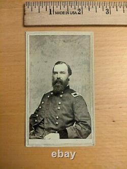 General John Baillie McIntosh Civil War cdv