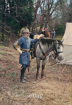 General Lee in Gettysburg John Paul Strain Studio Canvas Giclee