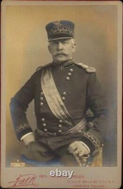 General Nelson Miles Cabinet Card Civil War Apache War Geronimo