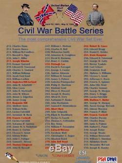 General P. G. T. Beauregard Confederate #510 2018 ESI CIVIL WAR PSA/DNA AUTOGRAPH