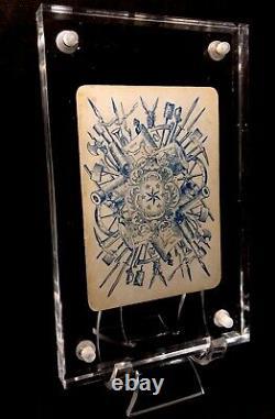 General Robert E Lee CSA Civil War Playing Cards Historic Military Single