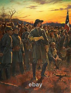 General of the Confederacy Don Troiani Civil War Limited Edition Canvas Giclee