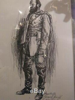 George I. Parrish Set Of Six Civil War Generals. Signed and numbered, Collector