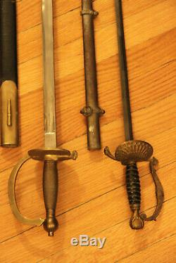 Great offer! Two Civil War General staff swords