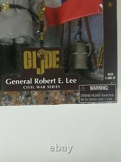 Hasbro GI Joe General Robert E. Lee (Civil War Series) Action Figure 1998 Sealed