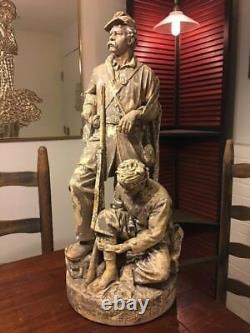 John Rogers GroupOne More ShotPat. Jan. 17,1865General CusterCivil WarRARE