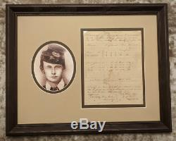 KIA Civil War Confederate General John H. Kelly War-Date Signed Document Framed