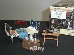 King And Country Cw55 American CIVIL War General Lee Bed + Belongings Set