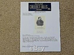 LEW WALLACE Civil War General & Author of Ben Hur Autograph Signature Framed