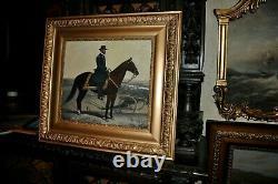 Large Vintage Horse mounted Union Civil War General Sherman