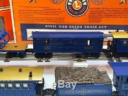 Lionel 6-21900 Civil War Union Train Set #1865 General Steam Used O O27 GAUGE