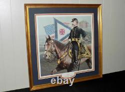 Michael Gnatek General Joshua Lawrence Chamerlain signed framed print Civil War