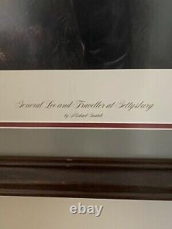 Michael Gnatek General Lee and Traveller Framed Signed Numbered Civil War Print