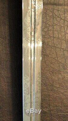Mint Ames Model 1834 Officer Sword For General Staff Civil War