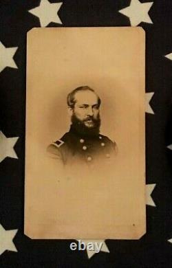 Original CIVIL War CDV Of 42nd Ohio General James Garfield Later President