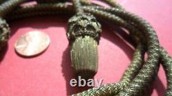 Original CIVIL War Period Generals Gold Bullion Hat Cord Mint