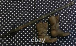 Original Period CIVIL War Era Child's Boots General Sherman /ewing Estate Willy