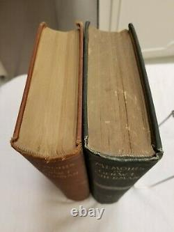 Personal Memoirs of Gen'l. W. T. Sherman' 2 vol. Set Civil War General NICE