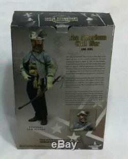 RARE Sideshow Legendary Icons Civil War General Jeb Stuart 12 Inch Figure Doll