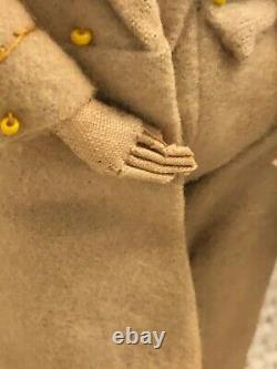 Rare Antique Civil War Robert Edward Lee Confederate General HandMade Folk Doll