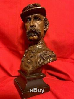Ron Tunison Civil War General Joshua Chamberlain Cold Cast Bronze Bust 306/350