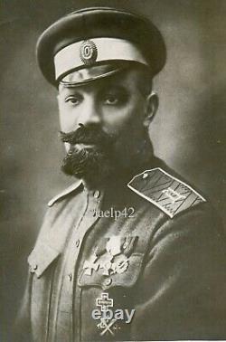 Russian Civil War General A. P. Kutepov Real Photo 1920 RARE