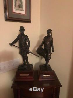 Sean McGraw Civil War General Joshua Chamberlain Cold Cast Bronze Sculpture #12