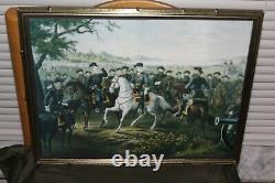 Tholey LEE AND HIS GENERALS Civil War Museum Colored Print Agustus Tholey Rare