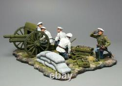Tin soldier, General Markov's artillery, the Russian Civil War. The White Army