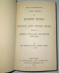 Upton's Infantry Tactics 1873 Indian Wars Manual Civil War General Emory Upton