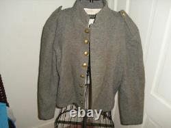Vintage CIVIL War Reenactors Jacket. Block I Buttons. Gettysburg General Store